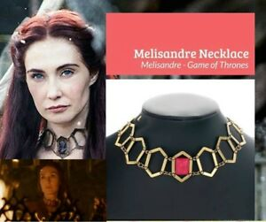 US-SHIP-Game-of-Thrones-Melisandre-Choker-Necklace-Priestess-Choker-Cos-Jewelry