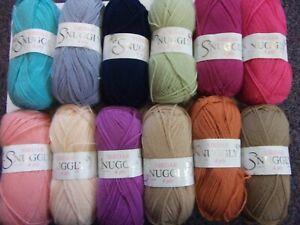 Five-x-50g-Balls-of-Sirdar-Snuggly-4ply-Baby-Wool-Yarn-for-Knitting-Crochet