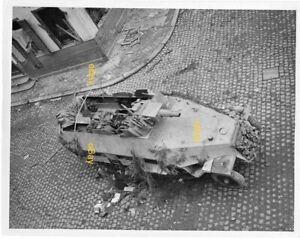 Dec-1944-US-Signal-Corps-Reprint-Photo-German-Half-Track-MG-42-Mauser-Belgium