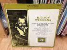 """BIG JOE WILLIAMS LP """" Big Joe Williams """" ARCHIVE OF FOLK Usa 1968'"""