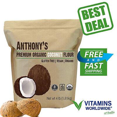 Anthony's ORGANIC COCONUT FLOUR VEGAN Non GMO Gluten Free