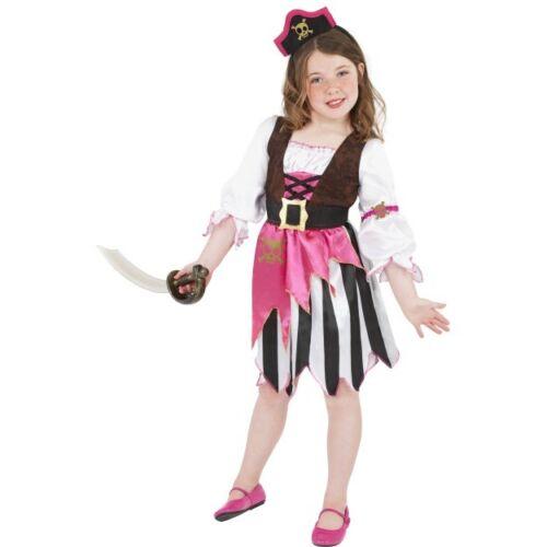 Smi Karneval Kinder Kostüm Piraten Girl Kleid Seeräuber