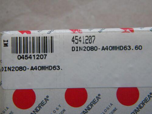 D`Andrea MHD Grundaufnahme DIN 2080 A40MHD63.60