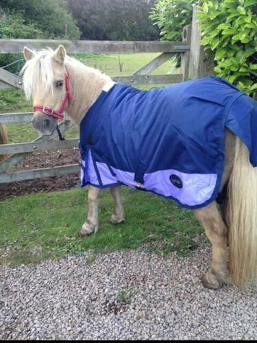 "4/'3/"" Shetland//Foal Lightweight Turnout Rug No Neck No Fill"