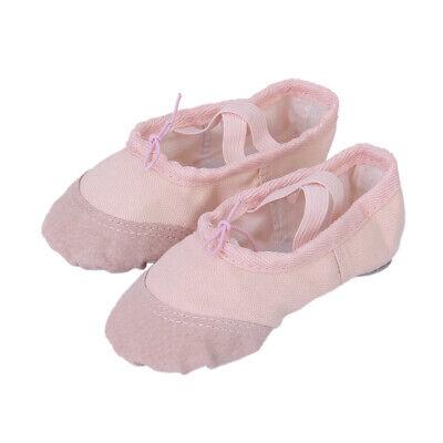 Scarpette Da Ballo Balletto Scarpe Elegante Rosa Per Bambine Ragazze EU 24