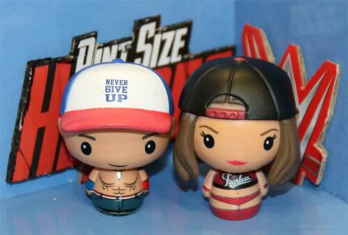 Funko Pint Size Heroes WWE Superstar Mini-Figure JOHN CENA 1//6/& NIKKI BELLA 1//24