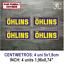 Sticker-Vinilo-Decal-Vinyl-Aufkleber-Adesivi-Autocollant-Ohlins-Suspension-AZOSS miniatura 3