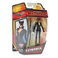 "DC COMICS 2015 MULTIVERSE 4/"" ARKHAM CITY CATWOMAN 4/"" Figure NEW FREE S//H!!!"