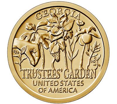 2019 PDS American Innovation Dollar Trustees/' Garden GA BU /& Proof 3 Coin Se
