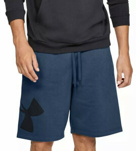 Under Armour Rival Fleece Logo Shorts Sport Short kurze Hose black 1329747-001
