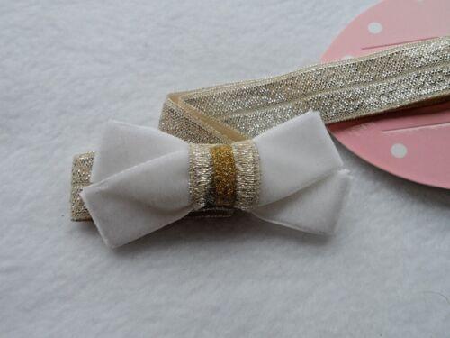 baby//girls velvet hair bow//headband//hairband//bridal//babyshower//christening no4