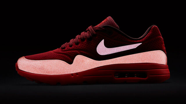 promo code 07135 0e0c8 New!!! Nike Air Max 1 Ultra Moire Sz 8.5 Gym Red Team Red