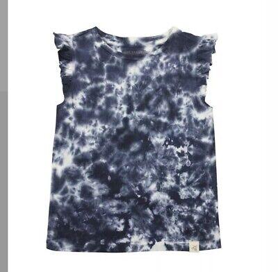 Burt/'s Bees Boy Organic Cotton Tie Dye blue T-shirt New Size 2T 3T 4T 5 7 Kids