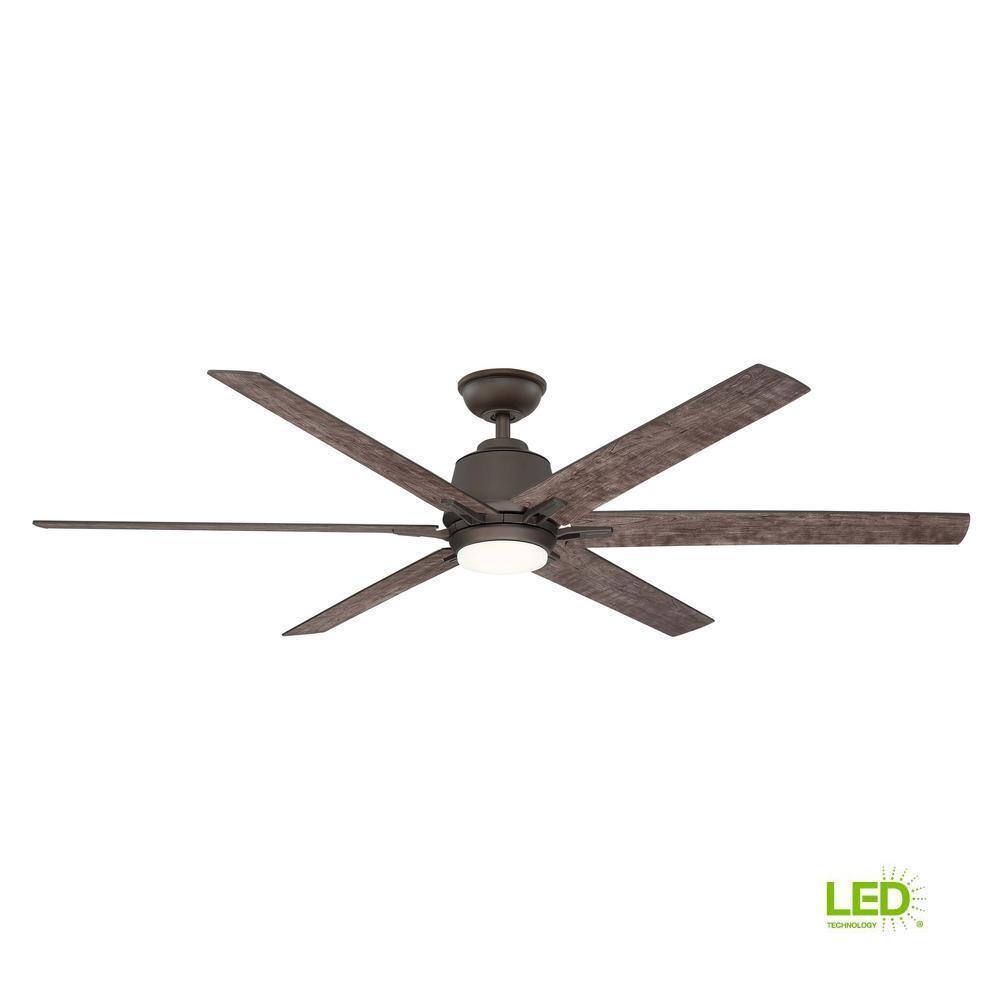 Home Decorators Collection Kensgrove 64 Led Espresso Bronze Ceiling Fan For Sale Online