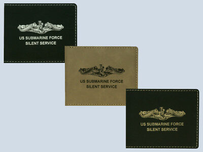Submarine Leather Wallet BLACK or BROWN Submariners Gift 355