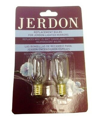 25w Replacement Bulbs For Seeall And Jerdon Lighted Makeup