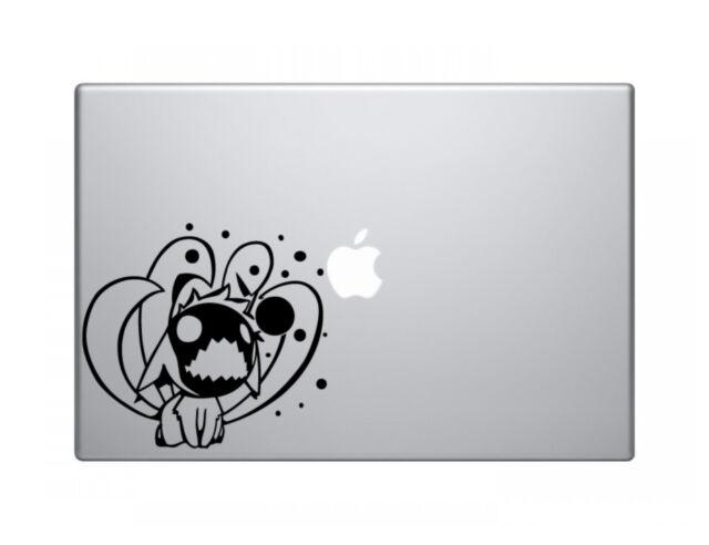 "Chibi Nine Tails Naruto Decal Sticker Skin Apple MacBook Pro Air Mac 13"" inch"