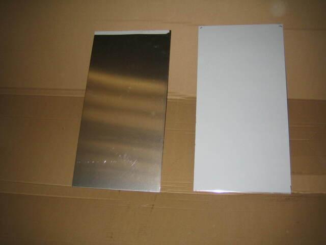 Aluminium Sheet 2 @ 1750mm long 150mm wide x 2mm thick for dpetteng