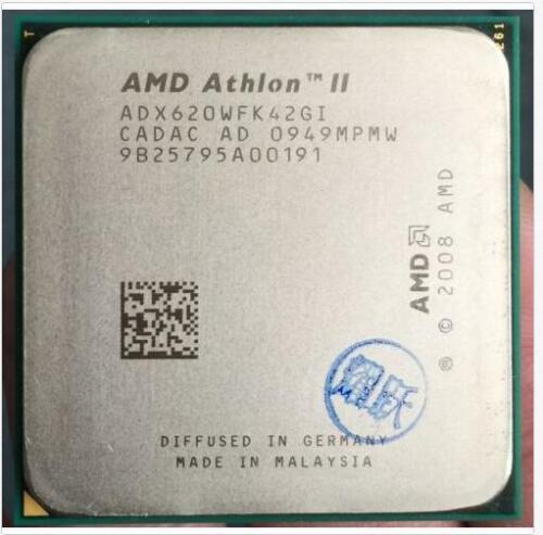 AMD Athlon II X4 620 X4 630 X4 635 X4 640 X4 645 X4 650 938pin Socket AM3 CPU