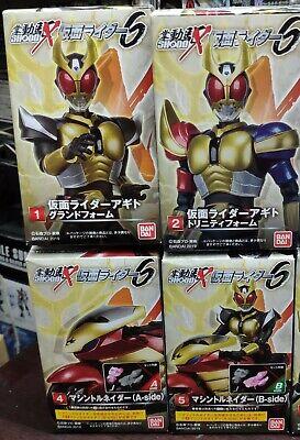 Set of 4 Agito 6 Bandai Masked Kamen Rider Shodo X Vol