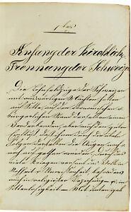 1833-Manuscript-SWISS-REFORMATION-Little-Known-Treatise-by-REFORMER-ZSCHOKKE