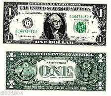 Etats UNIS AMERIQUE USA Billet 1 $ Dollar  NOUVEAU NEW NEUF UNC
