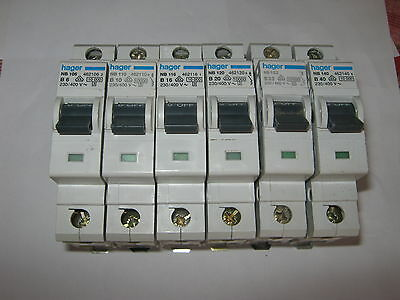 Hager B16amp Rcbo