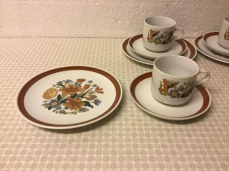 Porcelæn, Børne Kopper og Tallerkener Ældre Pynt