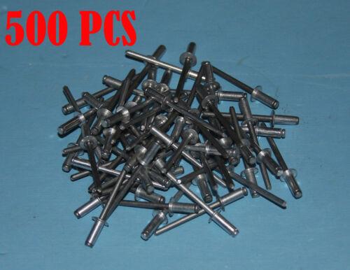 """.188-.250 ITEM#JAL46 500pcs 5//32/"""" Aluminum Dome Style Pop Rivets Grip Range"""