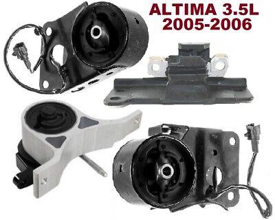 for Auto Trans. 4 PCS MOTOR /& TRANS MOUNT FIT 2004-2005 Nissan Maxima 3.5L
