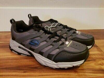 SKECHERS Men's Charcoal Shoes Size 9.5