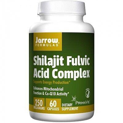 Shilajit Fulvic Acid Complex - 60 Veg Caps - Jarrow