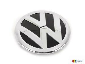 NEW-GENUINE-VW-CC-09-12-FRONT-CENTER-GRILL-VW-BADGE-EMBLEM-CHROME-3C8853601A-FXC