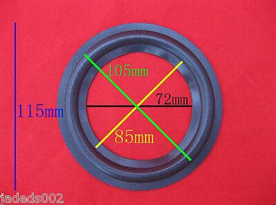 """2pcs 4.5""""inch Speaker Foam Edge surround Speaker Repair parts"""