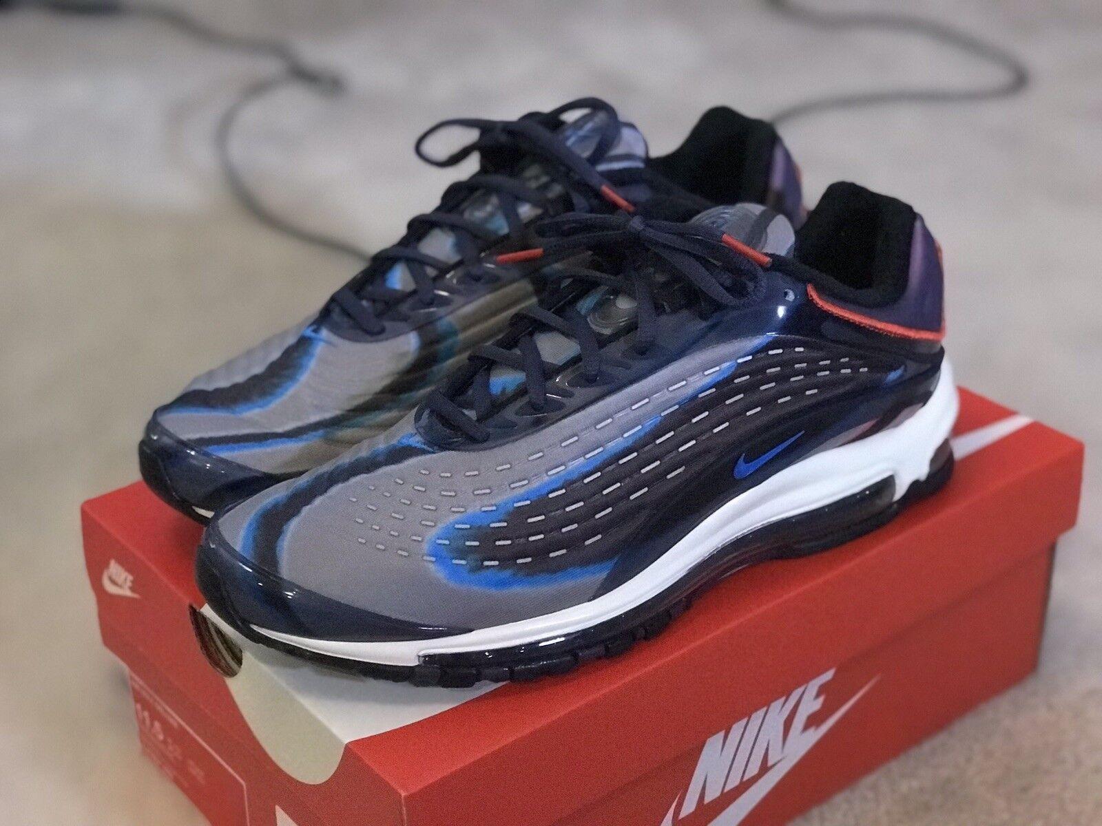 premium selection 2386a 4e72d Nike Air Deluxe Thunder Blau Men US 11.5 SNKRS Hypebeast FASHION STREETWEAR  Max nrztvk3893-Sneaker