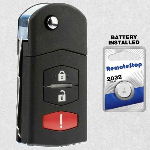 For 2007 2008 2009 2010 2011 2012 2013 2014 2015 Mazda CX-9 Flip Remote Key Fob