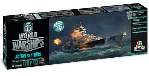 Italeri 1 700 World of Warships Tirpitz