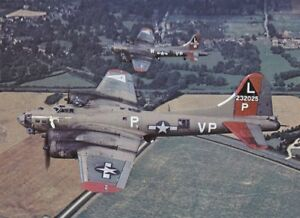 COLOR-WW2-Photo-B-17-Low-Level-Flight-USAAF-WWII-World-War-Two-US-Army-Air-Force