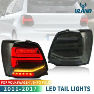 VLAND-Feu-Arriere-LED-pour-VW-POLO-MK5-6R-6C-2009-18-Feu-Arriere-avec-Sequentiel
