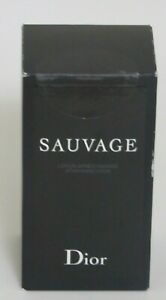 3b56bb92 Details about Sauvage for Men by Christian Dior After Shave Lotion Splash  3.4 oz - New in Box
