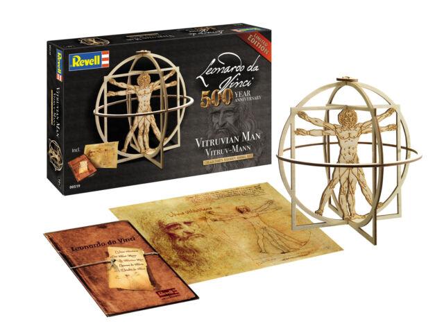 Revell 00519-1/16 Leonardo Da Vinci: Vitruv-Mann - Nuevo