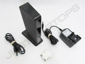 Dell Latitude E5270 USB 3.0 Port Replikator Dock W / Dvi-I Video Ausgang Inc PSU