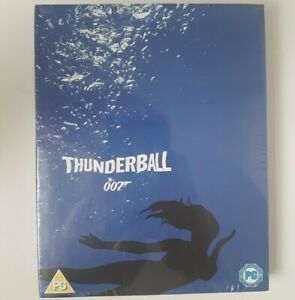 Thunderball-James-Bond-Blu-Ray-Limited-Edition-Art-Cover-New-amp-Sealed-007