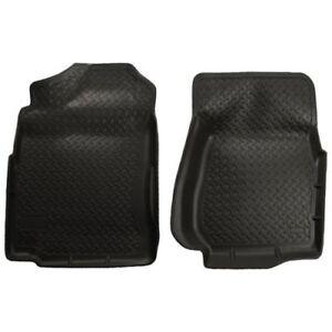 Husky-Liners-31401-Front-Seat-Floor-Liner-Mats-Black-For-Silverado-amp-Sierra