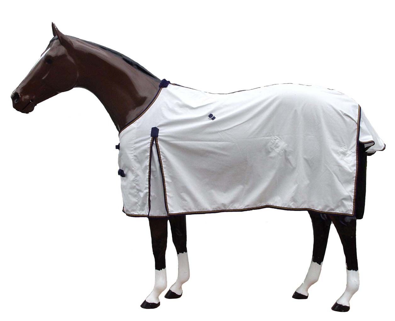 Horse Rug Kool-White Summer RugLight & Breathable  Soft Cotton   All sizes