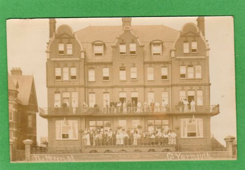 Imperial Hotel Great Yarmouth RP pc used 1907 Ref G44