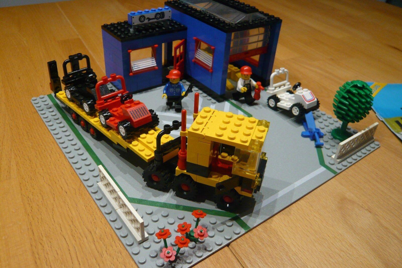 LEGO City Autowerkstatt 1966 komplett mit Bauanleitung sehr selten