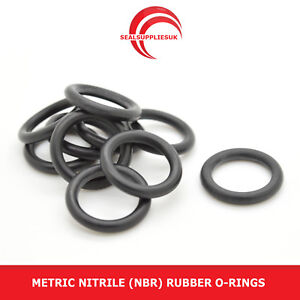 Metric-Nitrile-Rubber-O-Rings-3mm-Cross-Section-80mm-110mm-ID-UK-SUPPLIER