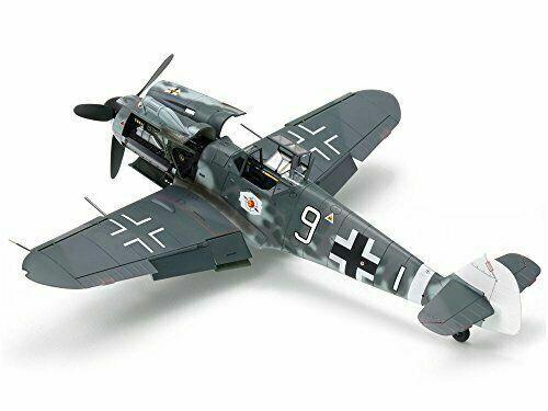 Tamiya 1//48 Obra Maestra Máquina Serie No.117 Luftwaffe Messerschmitt BF109 G-6