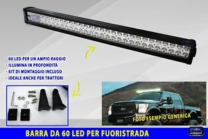 Led Per Auto Esterni.Dettagli Su Barre Led Fuoristrada Barra Faretto Fari Auto Esterni Per Kit Luce Light Faro